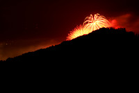 Fireworks on the Mountain